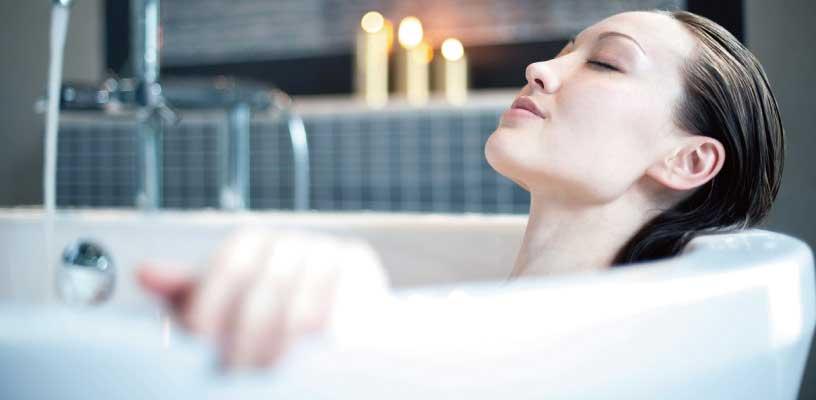 入浴や半身浴
